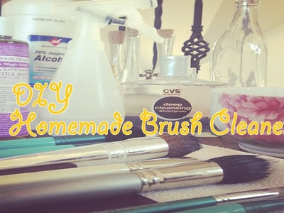 ❥ DIY Homemade Brush Cleaner *♪