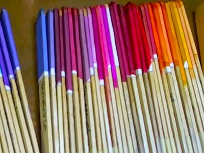 DIY How to Create Dye Color Sample Sticks - Organize Dyes & Colors - Tutorial by Carolyn Trout