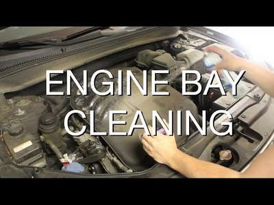 DIY: How to Safely Clean Your Engine Bay