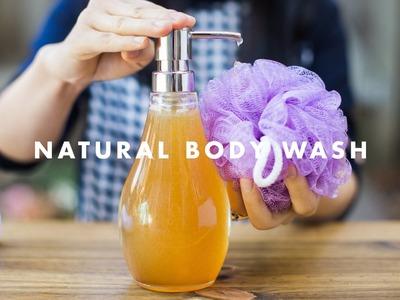 DIY Natural Body Wash - NATURAL BEAUTY SERIES