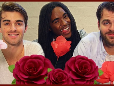 DIY PAPER ROSES - THE CHAINSMOKERS W. RUBA WILSON!