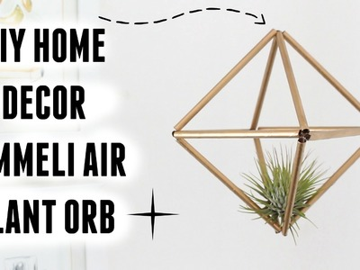 DIY ROOM DECOR - HIMMELI AIR PLANT ORB | Carly Musleh
