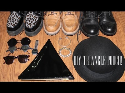 DIY: Triangle Pouch