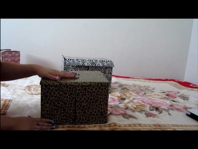 ENGLISH~ DIY: ZEBRA BOX