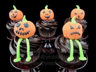 Halloween cupcake decorating tutorial http:.www.inspiredbymichelle.com.au