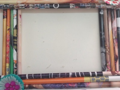 How To Create a Funky Rolled - DIY Paper Photo Frame Tutorial - Home