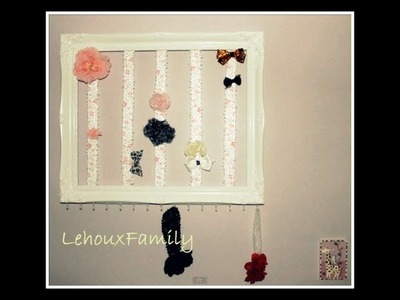 How to Make a REALLY CUTE Bow Holder!