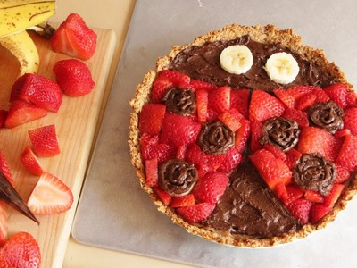 Ladybug Decorated Strawberry Tart Recipe | Sweet Tarts