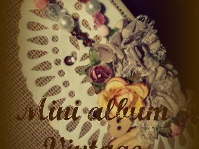 Mini album estilo vintage- Vintage style mini album