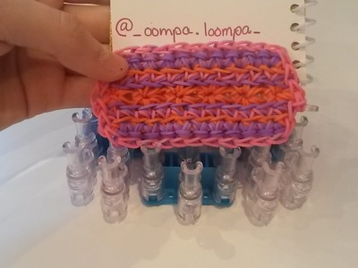 NEW! Holy Grail Bracelet on the Rainbow Loom