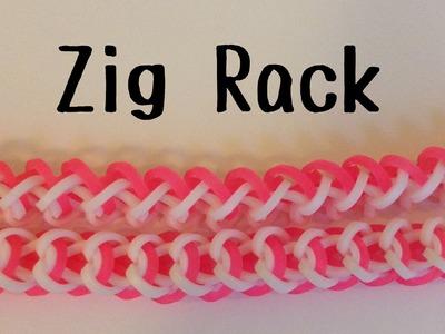 NEW Zig Rack Bracelet | Hook Only | Rainbow Loom