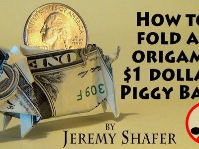 Origami Piggy Bank (no music)