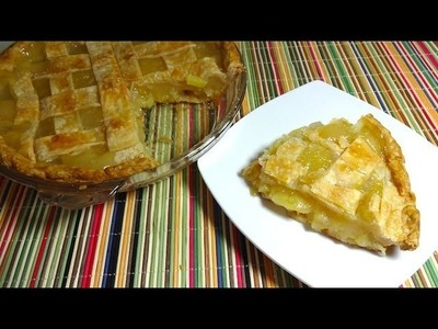 Pay (pie o tarta) de Piña (Pineapple Pie)