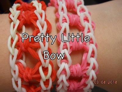 Rainbow Loom: Pretty Little Bow Bracelet: Original Design