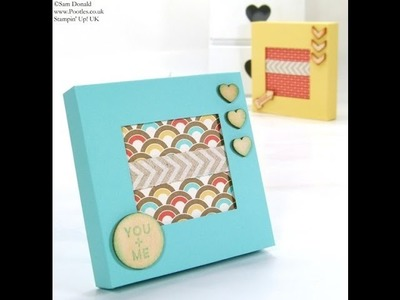 SPRINGWATCH Shadow Window Box for Tealights or 4x4 Cards