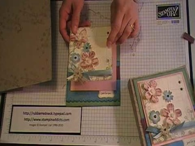 Stampin' Up! Tutorial~Card Folder.MOD