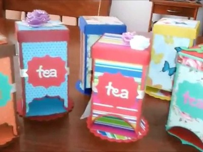 Tea box dispenser ( tutorial )