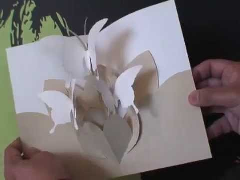 Butterfly Dance - Kirigami Pop-up Cards