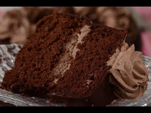 Chocolate Chiffon Cake Recipe Demonstration - Joyofbaking.com