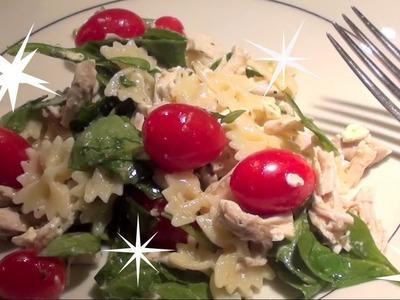Homemade: Lemon Vinaigrette Pasta Salad!