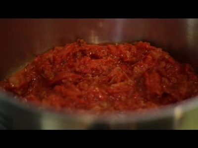 Homemade Spaghetti Sauce With Garden Tomatoes : Italian Cuisine