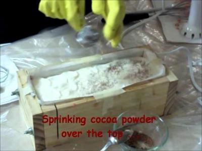 Hot Cocoa Swirl Soap