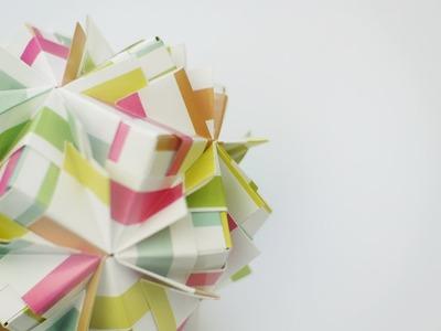 How to fold: Waltz Sonobe by Maria Sinayskaya
