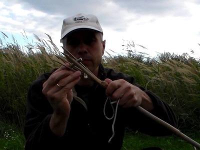 How to make a bamboo fish spear - bambusz halfogó szigony