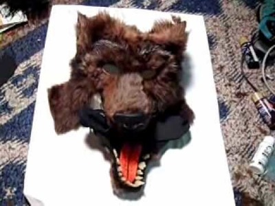 Make an Articulated Werewolf Mask