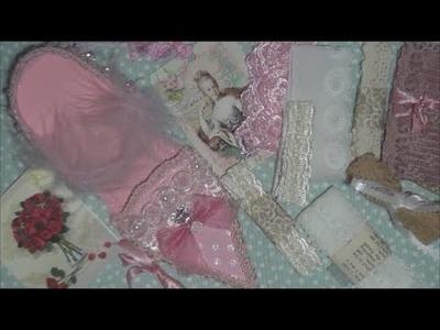 Marie Antoinette Paper Shoe Swap FROM Dwyllis