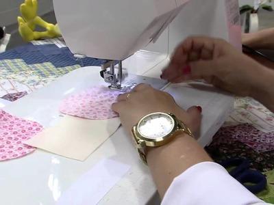 Mulher.com 02.10.2014 - Boneca Tati Decorativa por Claudete Messias - Parte 1