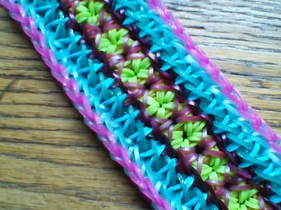 NEW Rainbow Loom Kate Bracelet