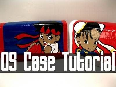 Nintendo DS Case Duct Tape Tutorial