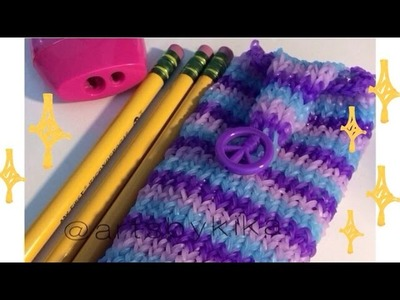 Rainbow Loom Pencil Case - Estojo  Portugues