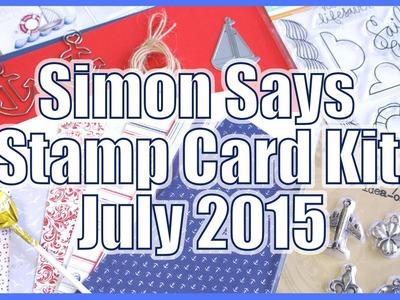 Simon Says Stamp Card Kit July 2015