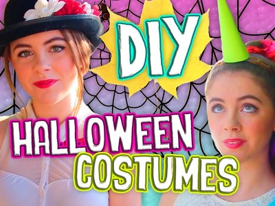 Simple DIY Halloween Costumes for Teens! Easy & Inexpensive!. Jill Cimorelli