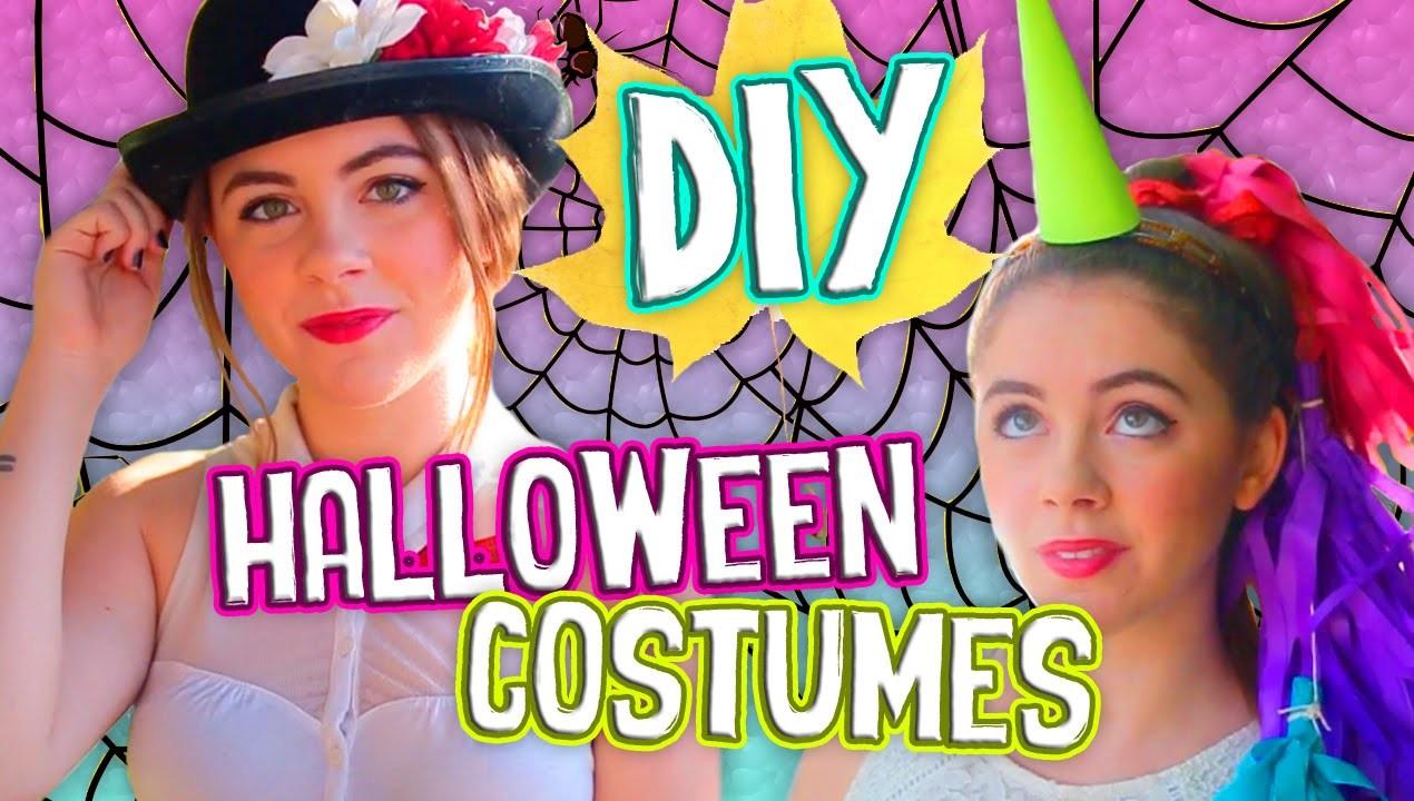 Simple DIY Halloween Costumes for Teens! Easy & Inexpensive!. Jill Cimorelli