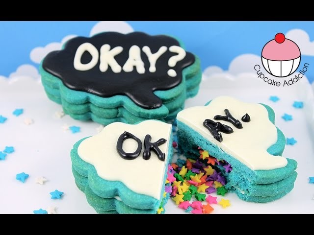 The Fault In Our Stars Surprise Piñata Cookies! TFIOS By Cupcake Addiction