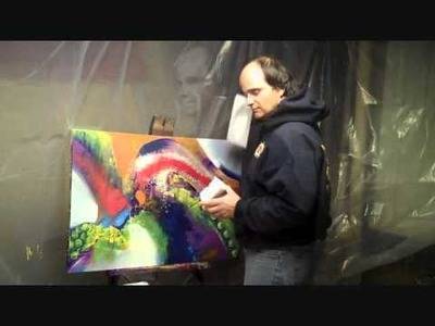 Tips and Tricks for the Acrylic Abstract Artist!