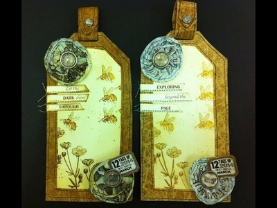 12 tags of 2014 - March (Tim Holtz)