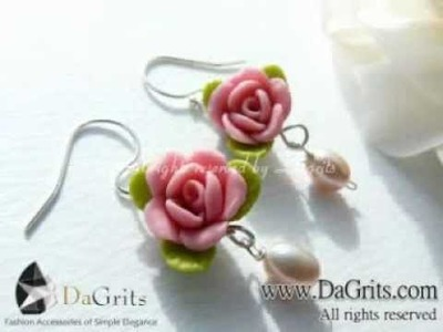 2012 - Handmade Japanese Clay Flower Collection