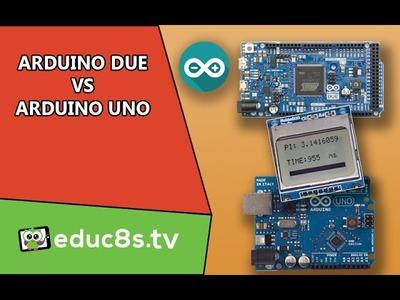 Arduino Due vs Arduino Uno Pi Benchmark DIY