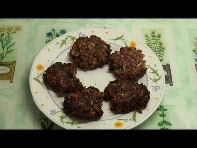 Chapli Kebab Recipe - Part 6 of the Desi Kebab-a-thon