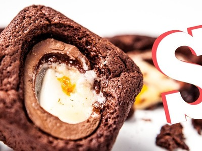 Creme Egg Chocolate Brownies Recipe