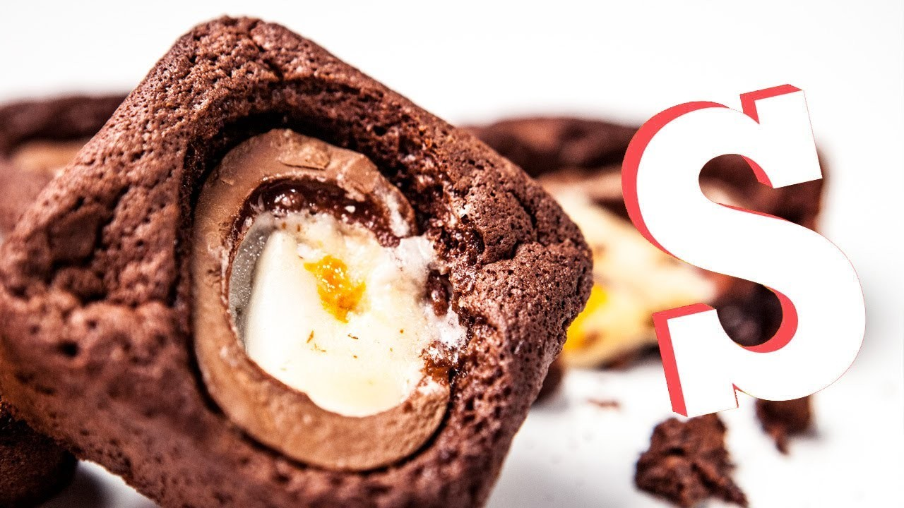 Creme Egg Chocolate Brownies Recipe