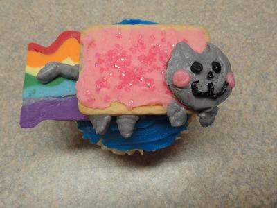 Decorating Cupcakes #80: Nyan Cat