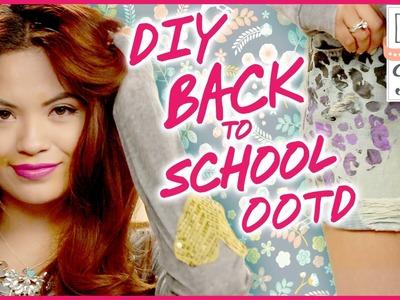 DIY Back to School OOTD With MissBel01xox #Drab2Fab