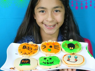DIY Halloween Cookies Kit Spider, Cat, Frankie Stein |B2cutecupcakes