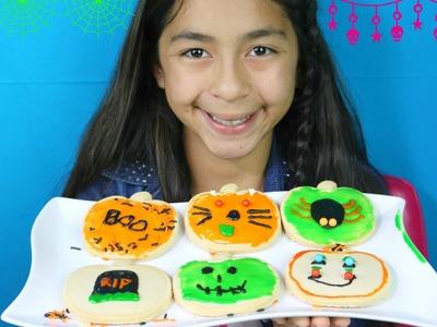 DIY Halloween Cookies Kit Spider, Cat, Frankie Stein |B2cutecupcakes