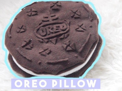 DIY Room Decor • Oreo Pillow (No Sew)  • heartcindy